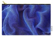 Blue Net Background Carry-all Pouch by Carlos Caetano