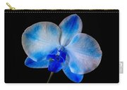 Blue Orchid Bloom Carry-all Pouch