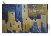 Blue Palace Greeting Card Carry-all Pouch