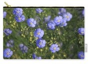 Blue Prairie Wildflowers Carry-all Pouch