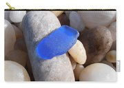 Blue Sea Glass Carry-all Pouch