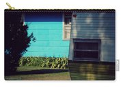 Blue Siding And Camper Carry-all Pouch
