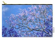 Blue Sky And Jacaranda Blossoms Carry-all Pouch