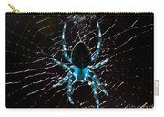 Blue Spider Carry-all Pouch