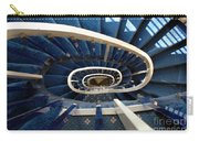 Blue Spiral Stairsway Carry-all Pouch