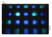 Blue Squares Carry-all Pouch