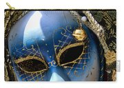 Blue Venetian Mask Carry-all Pouch