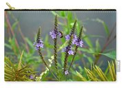 Blue Vervain - Verbena Hastata Carry-all Pouch