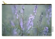 Blue Vervain Carry-all Pouch by Priska Wettstein
