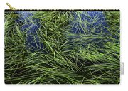 Blue Water Green Grass Glacier National Park Carry-all Pouch