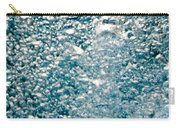 Blue White Water Bubbles In A Pool Carry-all Pouch