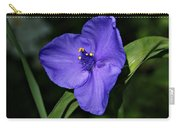 Blue Wildflower 6 Carry-all Pouch