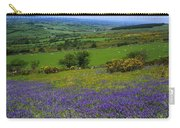 Bluebell Flowers On A Landscape, County Carry-all Pouch