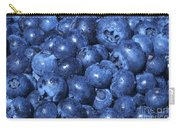 Blueberries With Waterdrops Carry-all Pouch