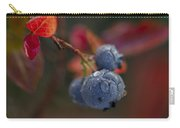 Blueberry Dewdrops Carry-all Pouch