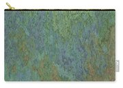 Bluegreen Stone Abstract Carry-all Pouch