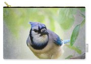 Bluejay In A Tree Carry-all Pouch