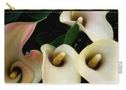 Blushing Calla Lilies Carry-all Pouch