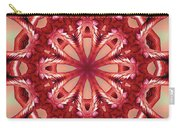 Blushing Flower Kaleid Carry-all Pouch