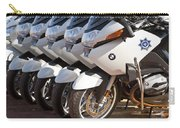 Bmw Police Motorcycles Carry-all Pouch