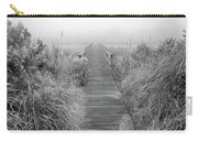 Boardwalk In Quogue Wildlife Preserve Carry-all Pouch by Rick Berk