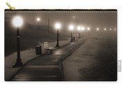 Boardwalk In The Fog Carry-all Pouch