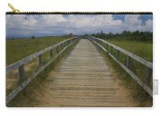 Boardwalk On The Beach On Lake Michigan Carry-all Pouch
