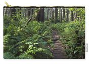Boardwalk Winds Through The Forest Carry-all Pouch