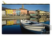 Boat And Village Carry-all Pouch