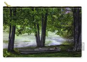 Boat By The Pond 2 Carry-all Pouch