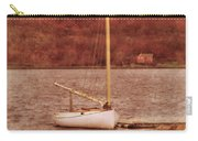 Boat Docked On The River Carry-all Pouch