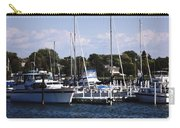 Boat Harbor In Dunkirk New York Carry-all Pouch