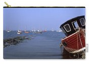 Boat Moored In The Sea, Strangford Carry-all Pouch