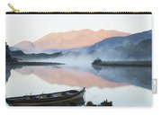 Boat On A Tranquil Lake Killarney Carry-all Pouch