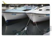Boat Reflections In Hvar Carry-all Pouch