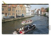 Boat Tours In Brugge Belgium Carry-all Pouch