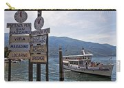 Boat Trip On Lake Maggiore Carry-all Pouch