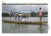 Boatman Taking A Couple Out On A Shikhara Carry-all Pouch