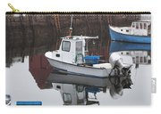 Boats At Rockport Harbor Carry-all Pouch