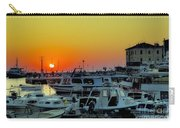 Boats At Sundown Carry-all Pouch