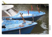 Boats In Amsterdam. Holland Carry-all Pouch