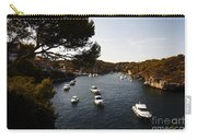 Boats In Cala Figuera Carry-all Pouch