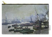 Boats In The Pool Of London Carry-all Pouch