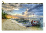 Boats Of Panglao Island Carry-all Pouch