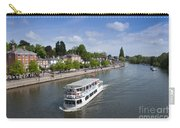 Boats On River Dee Carry-all Pouch