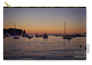 Boats On The Adriatic Sea Carry-all Pouch