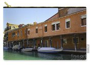 Boats On The Canal - Venice Carry-all Pouch