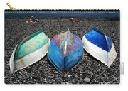 Boats On The Shingle Carry-all Pouch