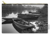 Boats On The Vienne Carry-all Pouch