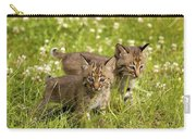 Bobcat Kittens Carry-all Pouch